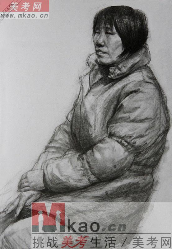 2012年中国美术学院优秀试卷(素描)